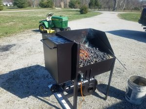 portable forge